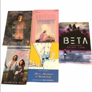 YA Fiction Books Set of 5